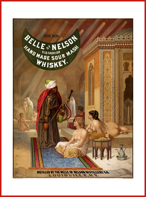 Belle of Nelson de ADVERTISING | Poster-Leinwand